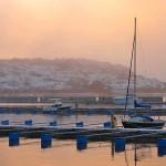 Vinterhamn i Lysekil