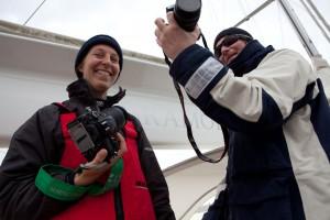Fram med kamerorna! Foto: Filip Andersson